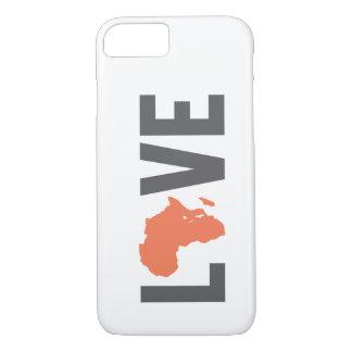 Caso del iPhone 7 de África del amor Funda iPhone 7
