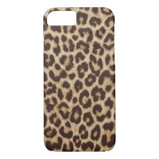 Caso del iPhone 7 de Apple del estampado leopardo Funda iPhone 7