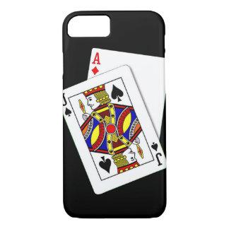 Caso del iPhone 7 de Black Jack Funda iPhone 7