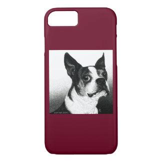 """Caso del iPhone 7 de Boston Terrier - """"estilo de Funda iPhone 7"""