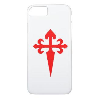 Caso del iPhone 7 de Cruz de Santiago Matamoros Funda iPhone 7