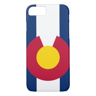 Caso del iPhone 7 de la bandera de Colorado Funda iPhone 7