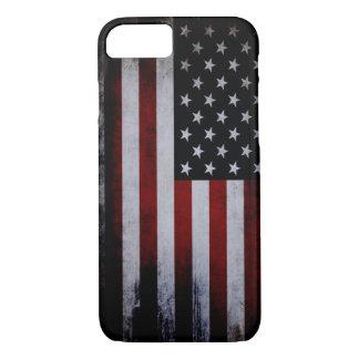 ¡Caso del iPhone 7 de la bandera de los E.E.U.U. Funda iPhone 7