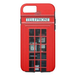 Caso del iPhone 7 de la cabina de teléfono de Funda iPhone 7