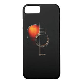Caso del iPhone 7 de la guitarra acústica Funda iPhone 7