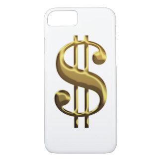 Caso del iPhone 7 de la muestra de dólar Funda iPhone 7