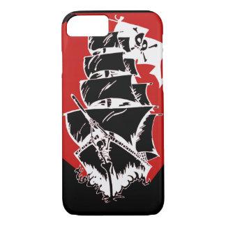 Caso del iPhone 7 de la nave y de la bandera de Funda iPhone 7