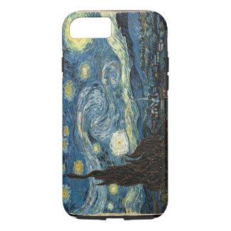 Caso del iPhone 7 de la noche estrellada de Van Funda iPhone 7