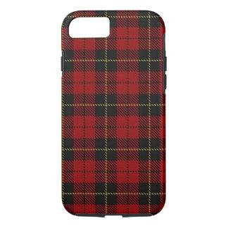 Caso del iPhone 7 de la tela escocesa de Wallace Funda iPhone 7