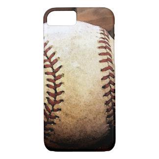 Caso del iPhone 7 de las ilustraciones del béisbol Funda iPhone 7