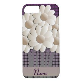 Caso del iPhone 7 de las margaritas y de la cesta Funda iPhone 7
