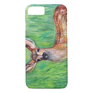 Caso del iPhone 7 de los ciervos del creyón Funda iPhone 7