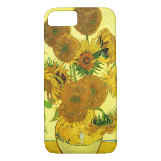 Caso del iPhone 7 de los girasoles de Van Gogh Funda iPhone 7