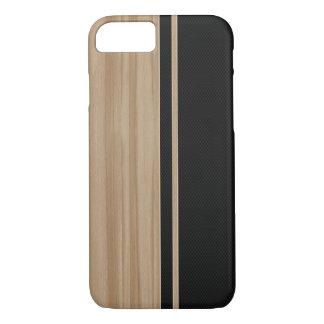 Caso del iPhone 7 de madera y de la fibra de Funda iPhone 7