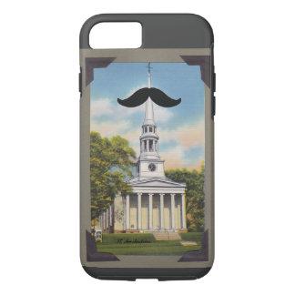 Caso del iPhone 7 de Mustachias del santo Funda iPhone 7