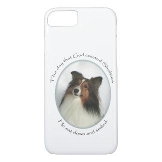 Caso del iPhone 7 de Sheltie Funda iPhone 7