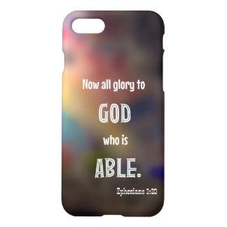 Caso del iPhone 7 del 3:20 de Ephesians Funda Para iPhone 7