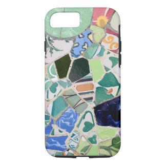 Caso del iPhone 7 del ambiente de los mosaicos de Funda iPhone 7