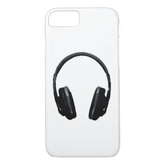 Caso del iPhone 7 del auricular del arte pop Funda iPhone 7