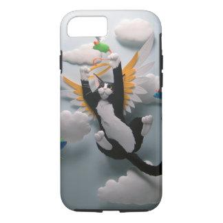 Caso del iPhone 7 del cielo del gato Funda iPhone 7