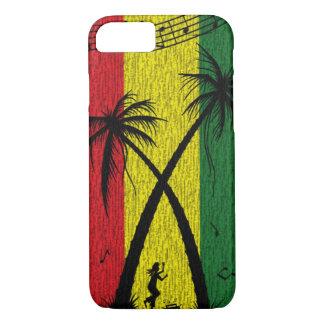 Caso del iPhone 7 del estuche rígido del reggae Funda iPhone 7