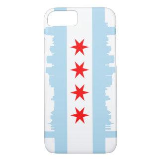 Caso del iPhone 7 del horizonte de la bandera de Funda iPhone 7