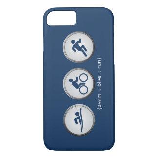 Caso del iPhone 7 del Nadada-Bici-Run del Funda iPhone 7