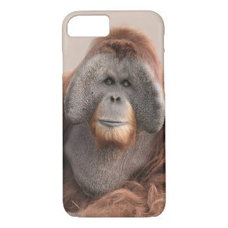 Caso del iPhone 7 del orangután de Sumatran Funda iPhone 7