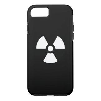 Caso del iPhone 7 del pictograma de la radiación Funda iPhone 7