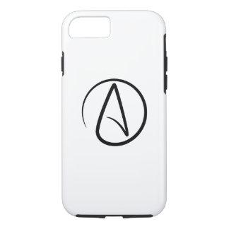 Caso del iPhone 7 del pictograma del ateísmo Funda iPhone 7