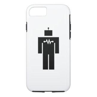 Caso del iPhone 7 del pictograma del robot Funda iPhone 7