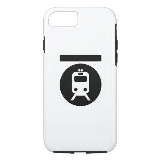 Caso del iPhone 7 del pictograma del subterráneo Funda iPhone 7