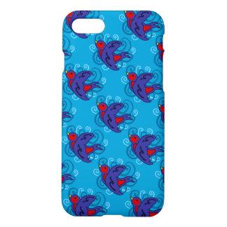 Caso del iPhone 7 del trago de Swirly Funda Para iPhone 7