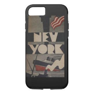 Caso del iPhone 7 del viaje de Nueva York del Funda iPhone 7
