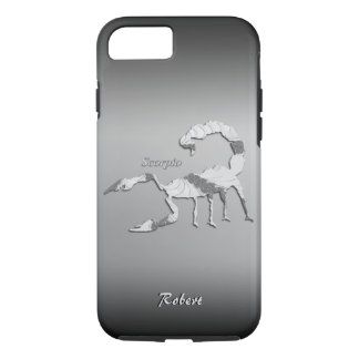 Caso del iPhone 7 del zodiaco del escorpión Funda iPhone 7