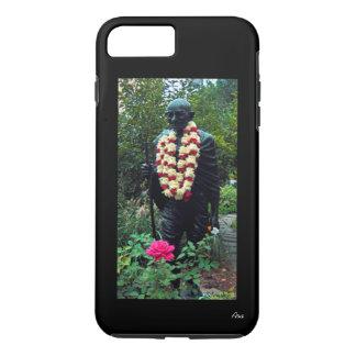 CASO del iPhone 7 - ESTATUA de GANDHI EN EL Funda iPhone 7 Plus