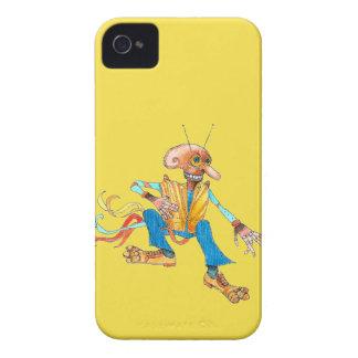 caso del iPhone, amarillo iPhone 4 Case-Mate Funda