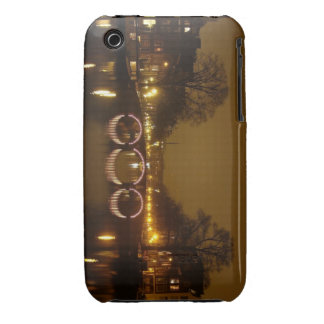 caso del iPhone - Amsterdam en la noche iPhone 3 Case-Mate Fundas