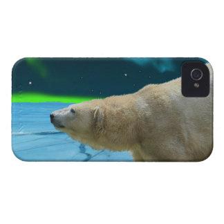 Caso del iPhone ártico del oso polar y de la iPhone 4 Case-Mate Cárcasas