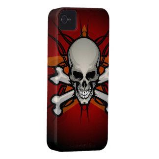 Caso del iPhone clásico 4 del cráneo y de la Funda Para iPhone 4