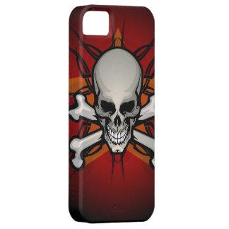 Caso del iPhone clásico 5 del cráneo y de la iPhone 5 Funda