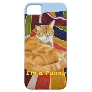 caso del iphone con diseño del gato funda para iPhone SE/5/5s