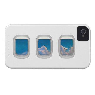 caso del iphone con el cerdo del vuelo iPhone 4 Case-Mate protector