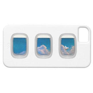 caso del iphone con el cerdo del vuelo iPhone 5 protectores