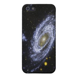 caso del iPhone con imagen del espacio exterior iPhone 5 Protectores