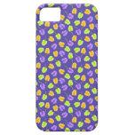 caso del iPhone con las hojas anaranjadas verdes d iPhone 5 Cárcasas