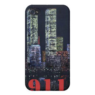 caso del iphone de 911 tributos iPhone 4/4S carcasas