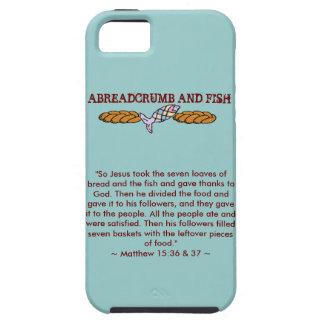 Caso del iPhone de Abreadcrumb y de los pescados iPhone 5 Funda