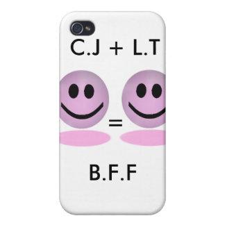 Caso del iPhone de B.F.F iPhone 4/4S Carcasas