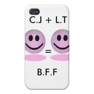 Caso del iPhone de B.F.F iPhone 4 Carcasa